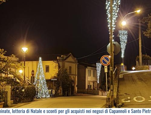 Strade illuminate, lotteria di Natale e sconti per gli acquisti nei negozi di Capannoli e Santo Pietro Belvedere