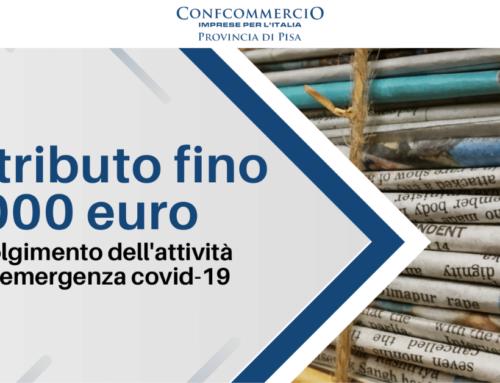 Contributo fino a 1.000 euro per Edicole e Rivendite di giornali e riviste