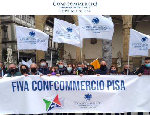 """Ambulanti pisani manifestano a Firenze: """"Le nostre attività sono sicure, fateci lavorare!"""""""