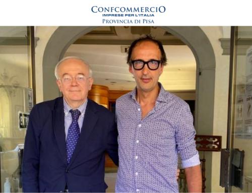 Cesare Andrisano è il nuovo referente Confcommercio con delega al turismo del comprensorio del Cuoio