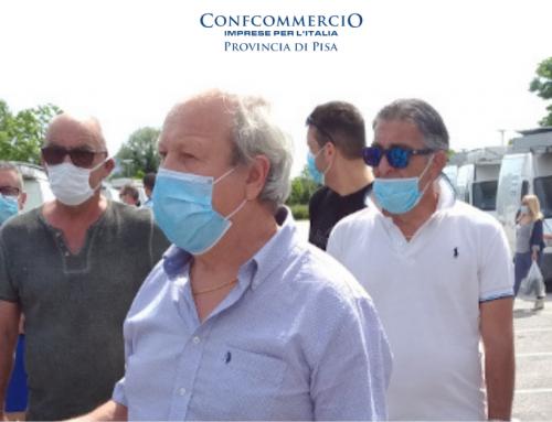 Ambulanti: domenica il rientro dei banchi in piazza Gorgona