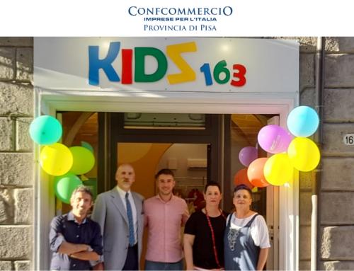 A Pontedera arriva Kidz163: un nuovissimo negozio di abbigliamento per i più piccoli