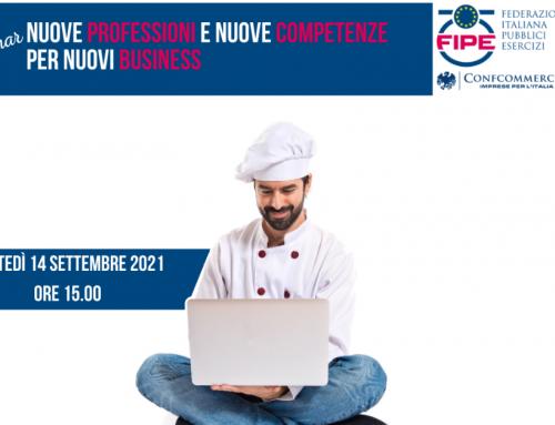 Webinar FIPE: Nuove professioni e nuove competenze per nuovi business